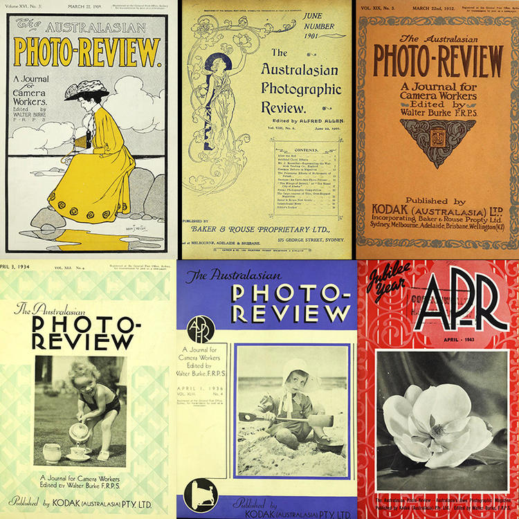 Australian Photo Review Journal Covers