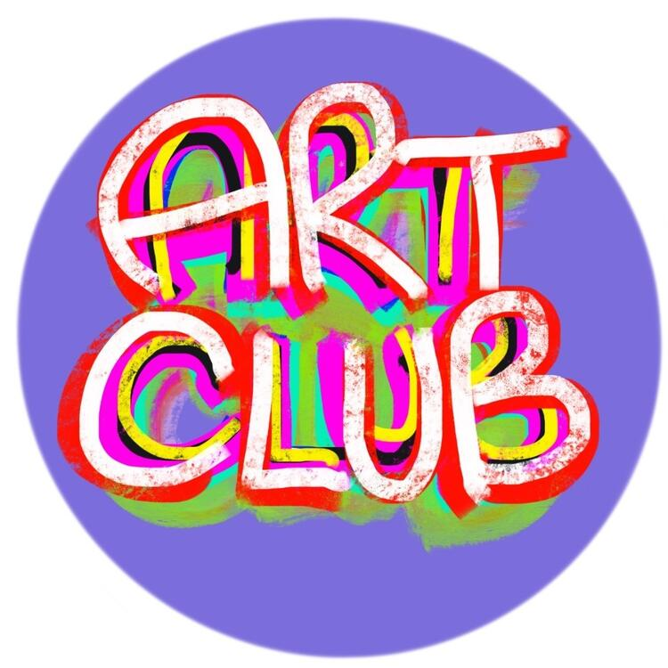 Art Club badge design