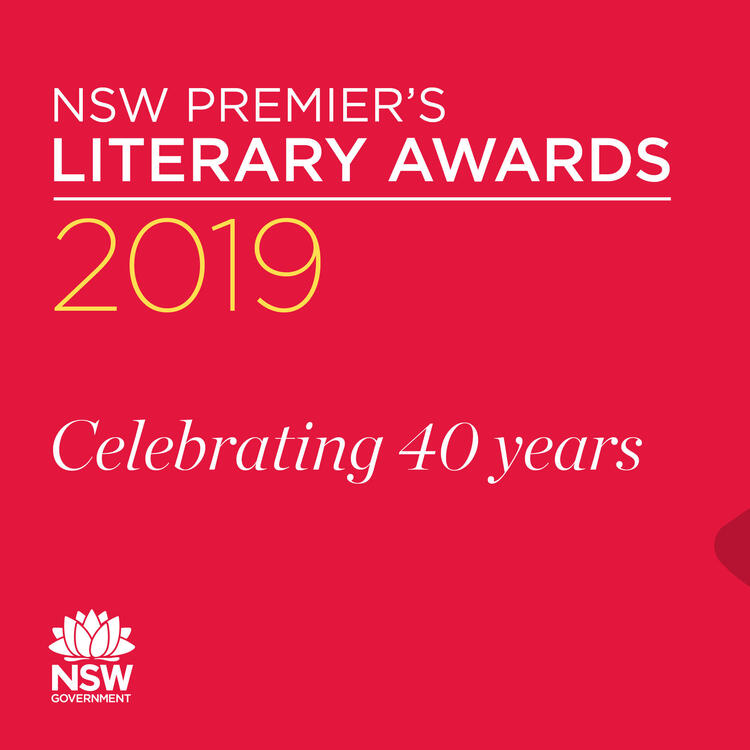 Graphic for 2019 Premier's Literary Awards.