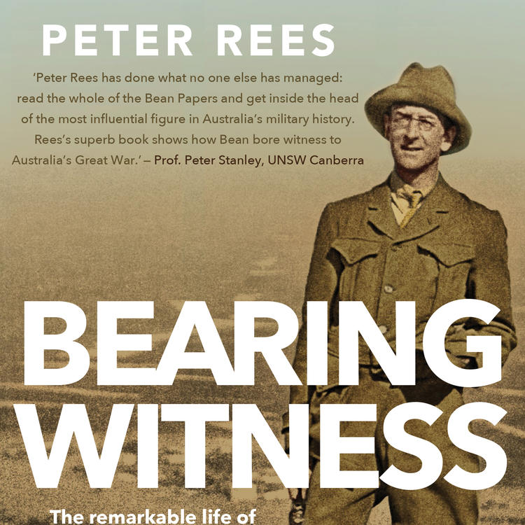 Book cover of Bearing Witness by Peter Rees
