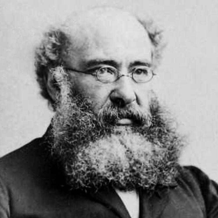 Head shot of Anthony Trollope