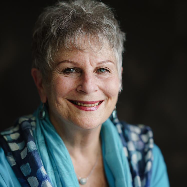 Head shot of author Petrea King