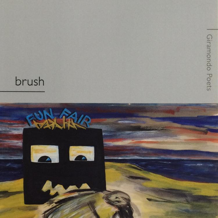 Book cover of brush by Joanne Burns