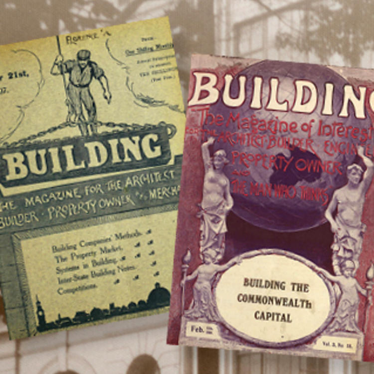 Covers (1907-1942), Building: the Magazine