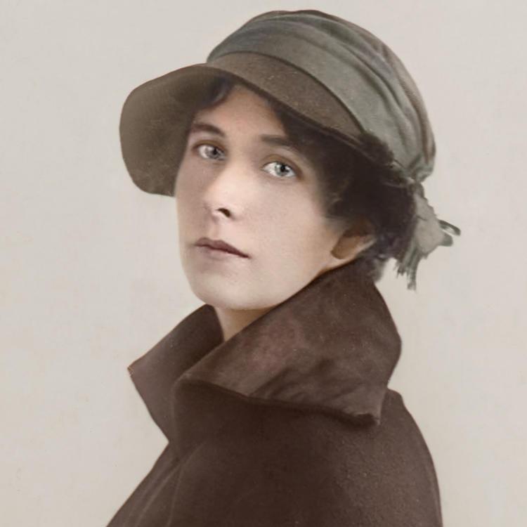 Portrait of Australian poet Zora Cross