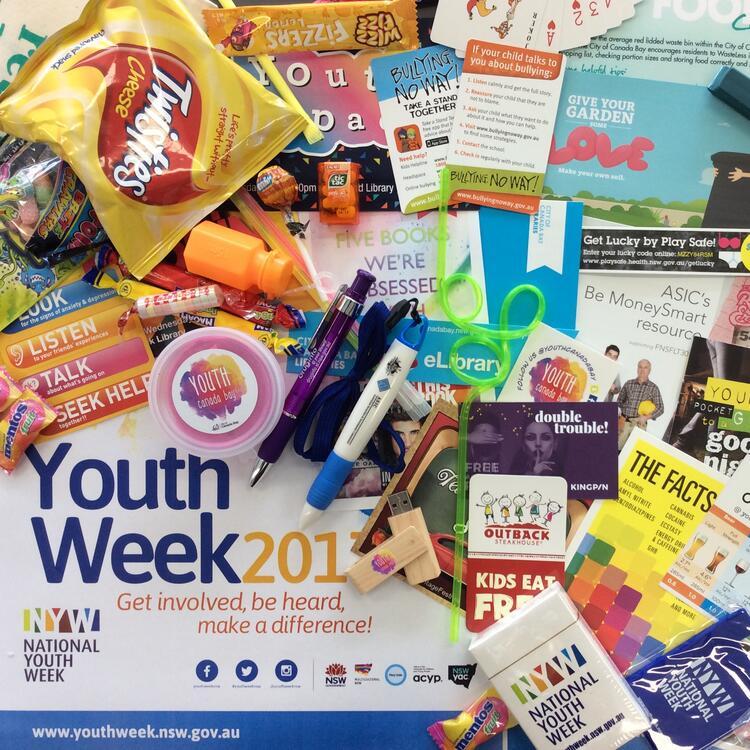 youth week 2017 showbag