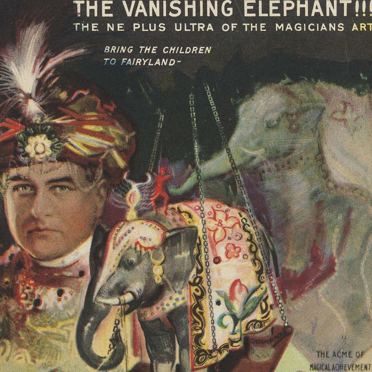 Carter the Great image: The Vanishing Elephant