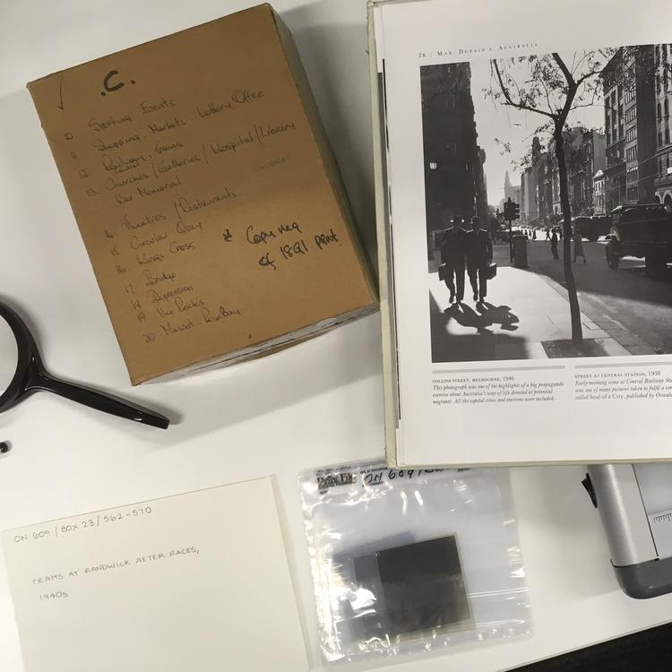 Example of reference sources used for title, date and content data