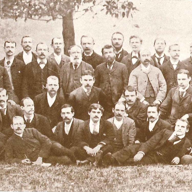 Staff of the Echo Companionship circa. 1890