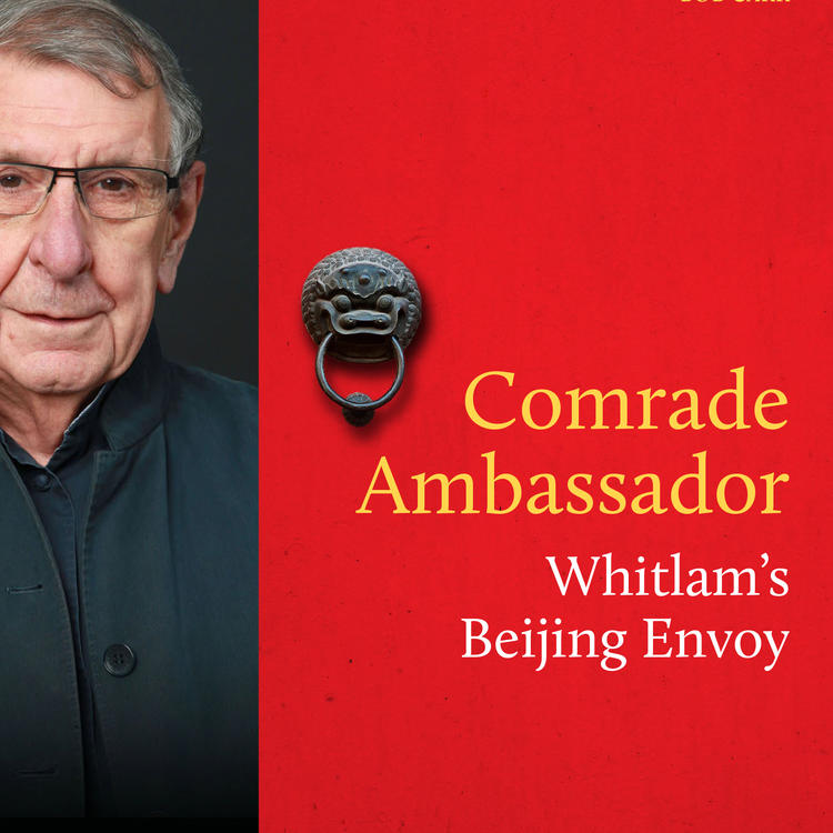 Book cover of Comrade Ambassador by Stephen FitzGerald