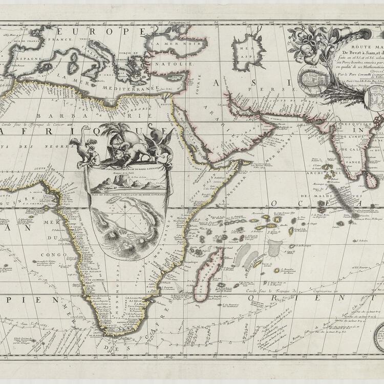 Coronelli Map