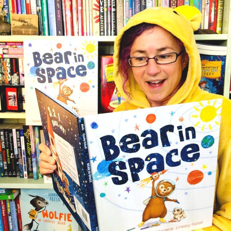 Author Deborah Abela read picture book