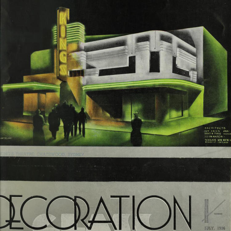 Decoration and Glass, Published by Australian Glass Manufacturers Co. Ltd, Dowling Street waterloo, NSW, Australia, 1 July, 1936