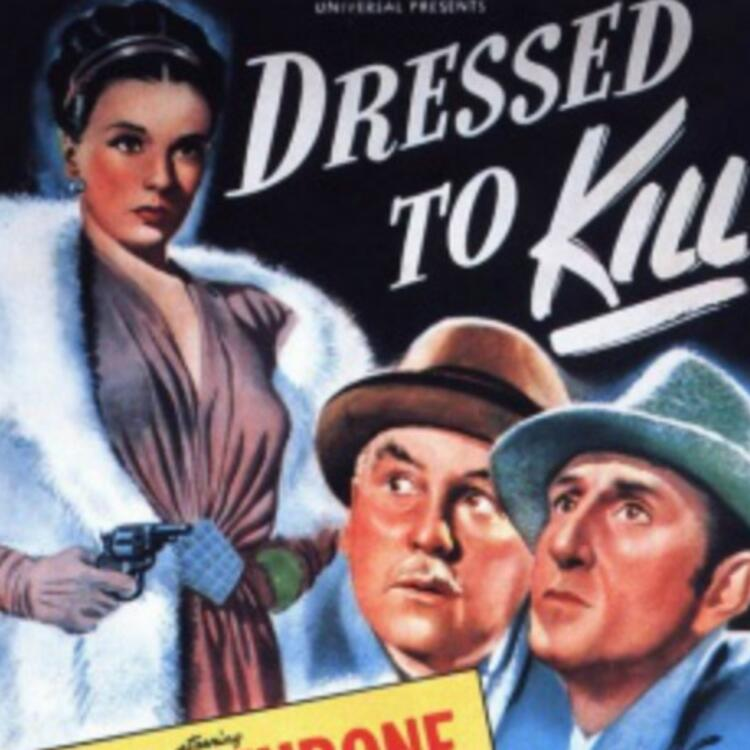 movie poster for Dressed to Kill 1946
