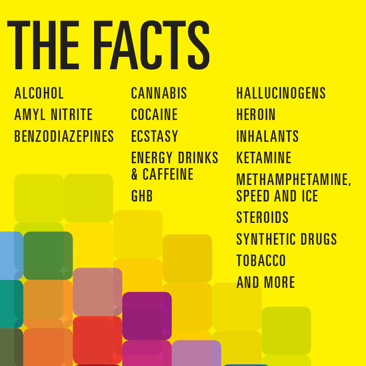 Drug facts logo