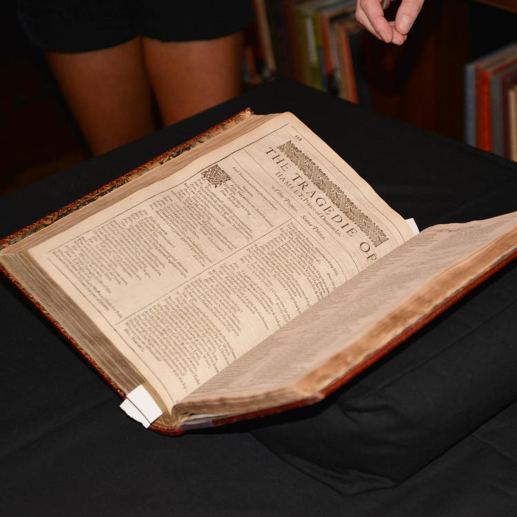 large open book