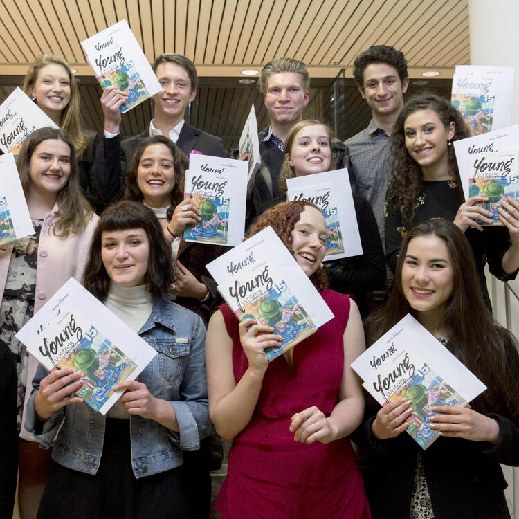 WordeXpress award winning English extension students of 2015