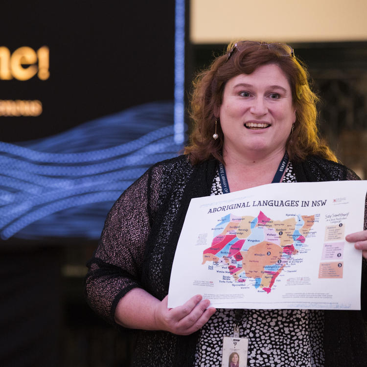A woman keeping a map in her hands