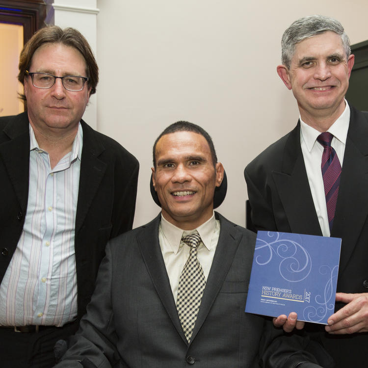 Members of Inclusion Advisory Committee at Premier's History Awards, 1 September 2017