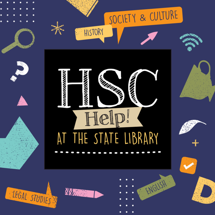 Logo and students for HSC help - science