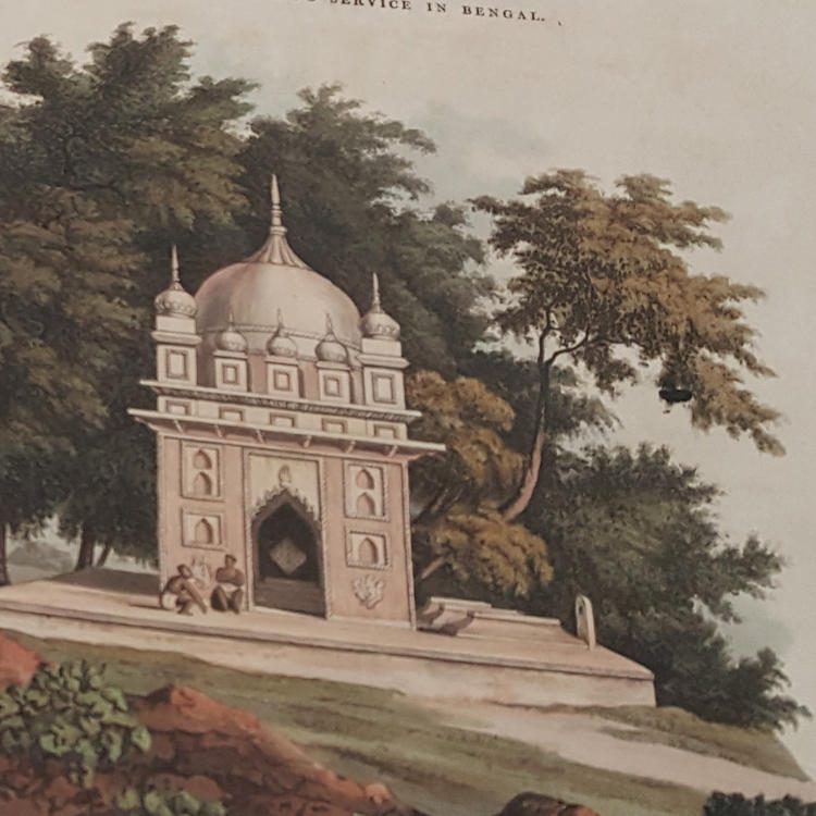A picturesque tour along the rivers Ganges and Jumna, in India: Consisting of twenty-four highly finished and coloured views by Forrest Ackermann