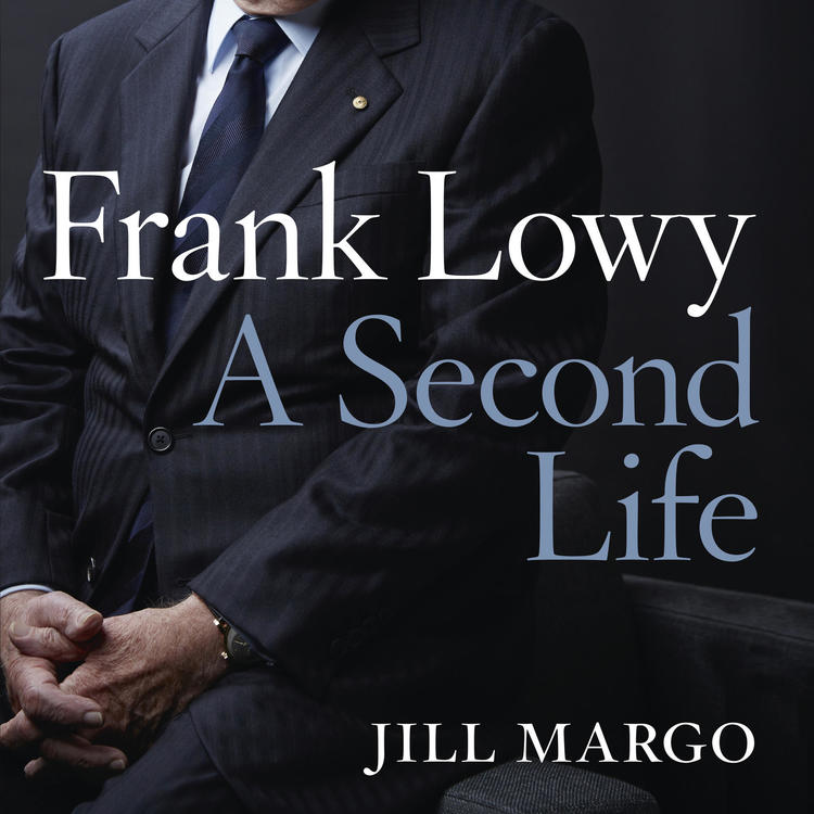 Book cover of Frank Lowy by Jill Margo