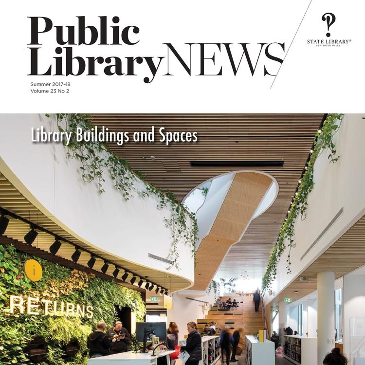 Public Library News front cover Summer 17-18