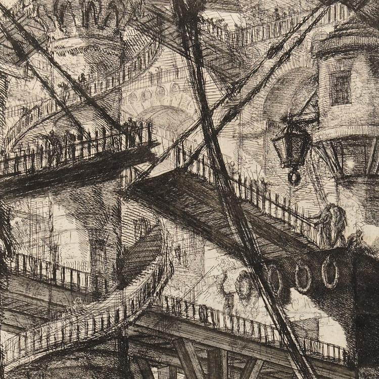 Piranesi, The Drawbridge c1761