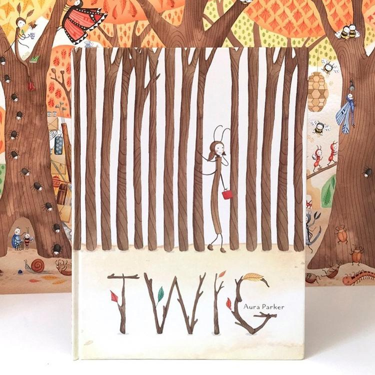 The book cover of the children's book Twig written and illustrated by Aura Parker