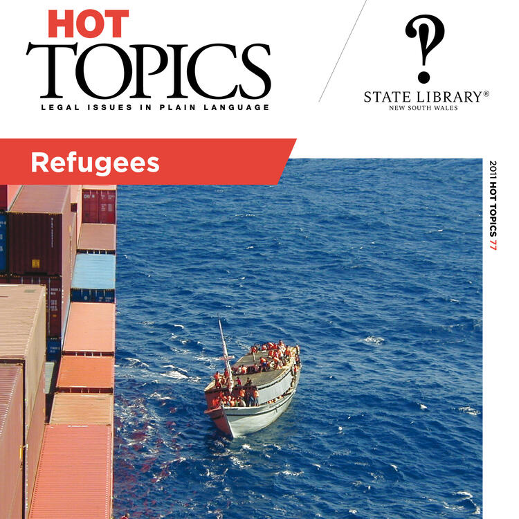 Hot Topics Cover Image Refugees
