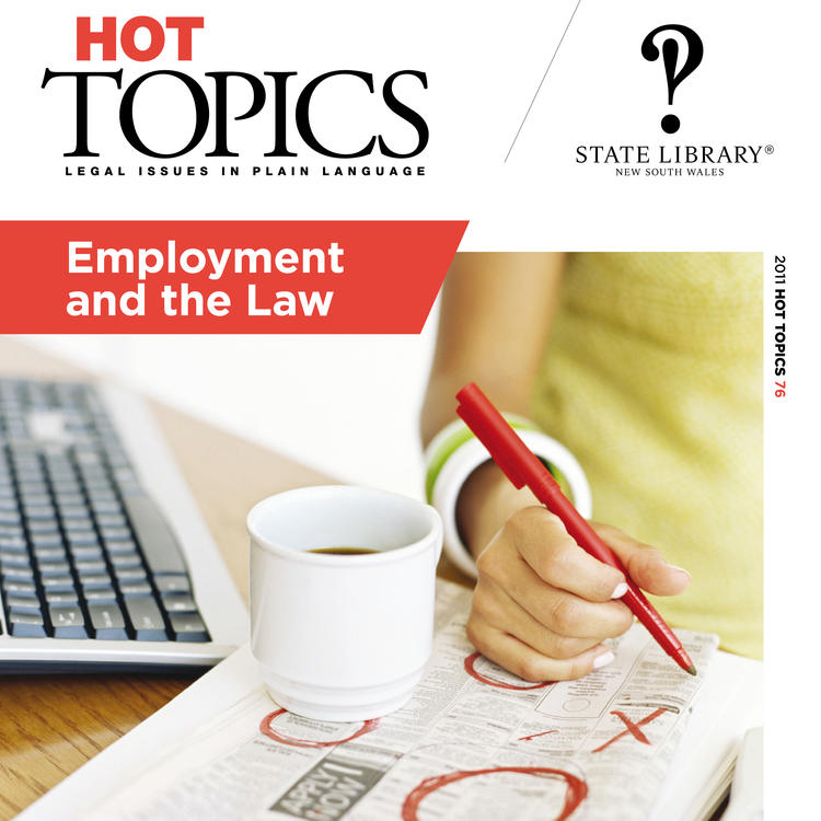 Cover image for Hot Topics Employment and the Law