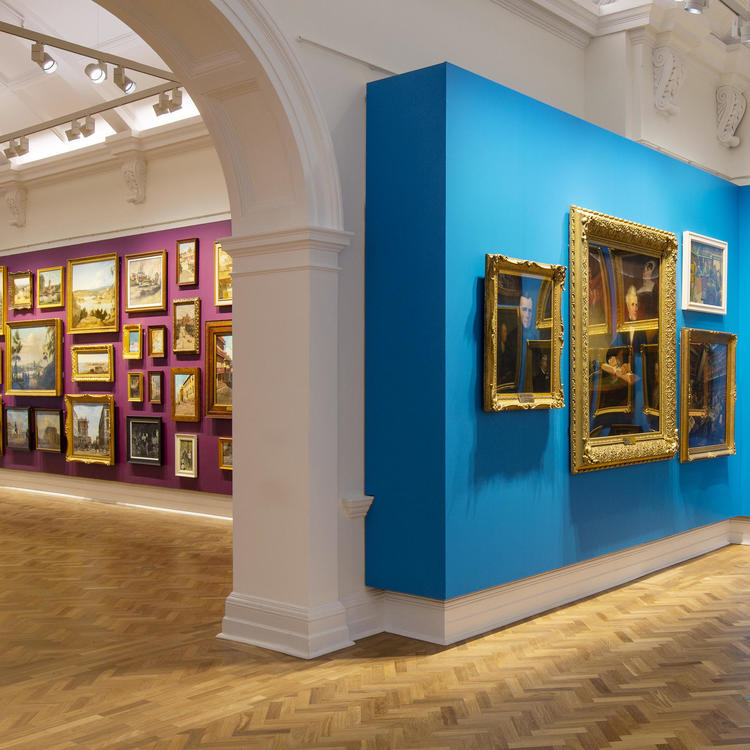 Paintings from the Collection exhibition