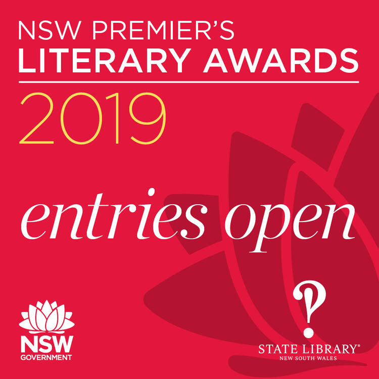 NSW Premier's Literary Awards 2019 Entries Open