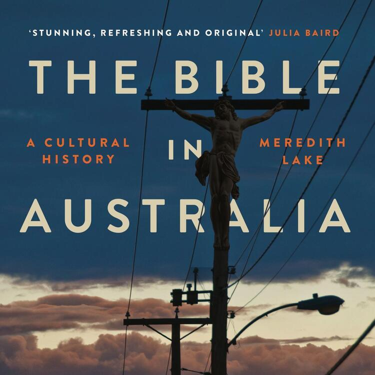 cover image of the book the bible in australia