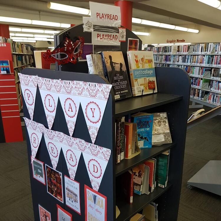 #playread display at Goulburn Library
