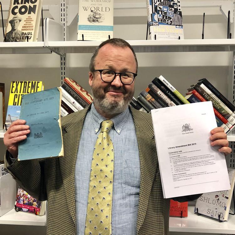 Library Amendment Bill 2019