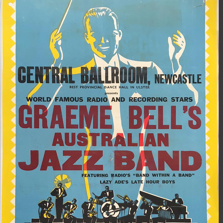 A jazz poster from c1951
