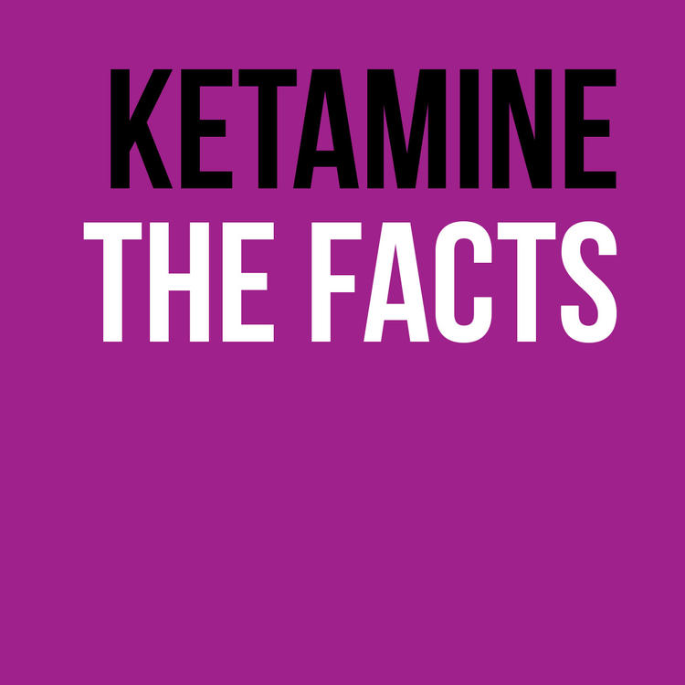 Ketamine pamphlet cover image