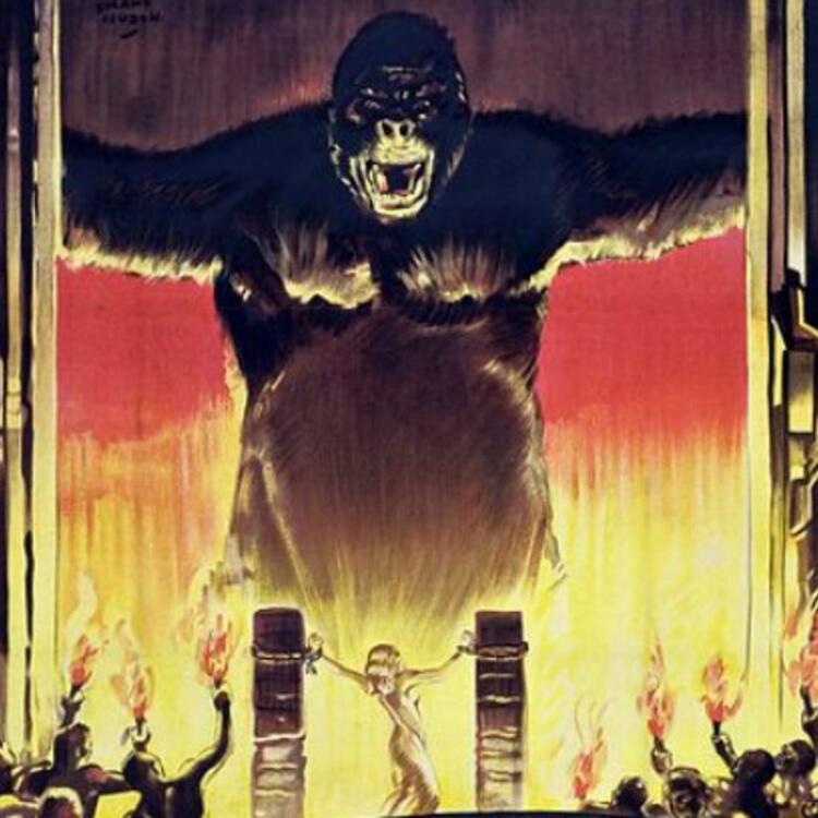 Film cover for film King Kong