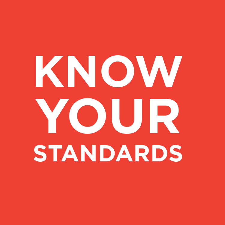 Know your standards drink image