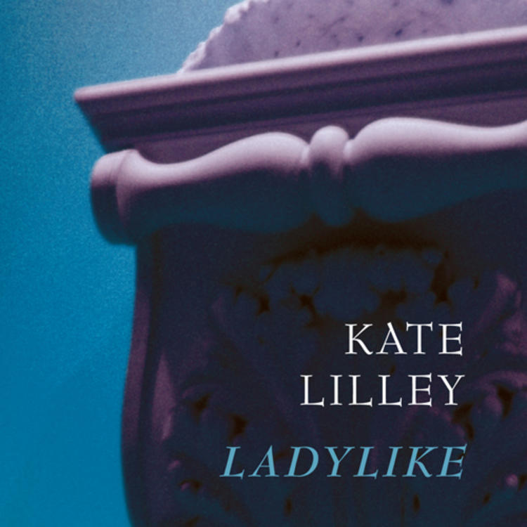 Statue of a Woman on book cover for Ladylike by Kate Lilley