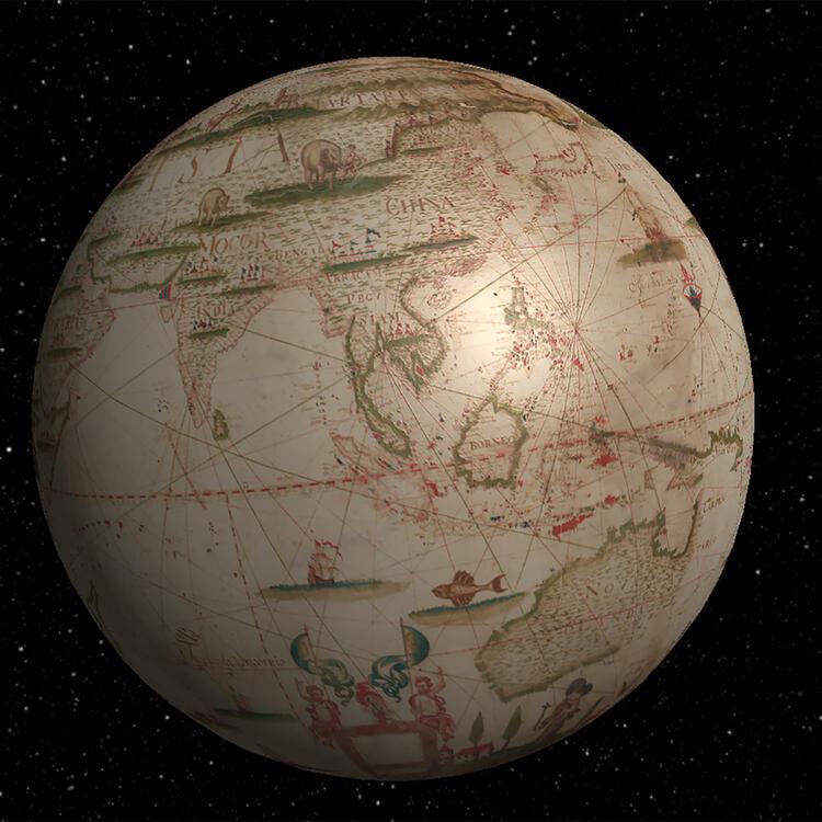 Miranda's World Map by Joseph Da Costa e Miranda