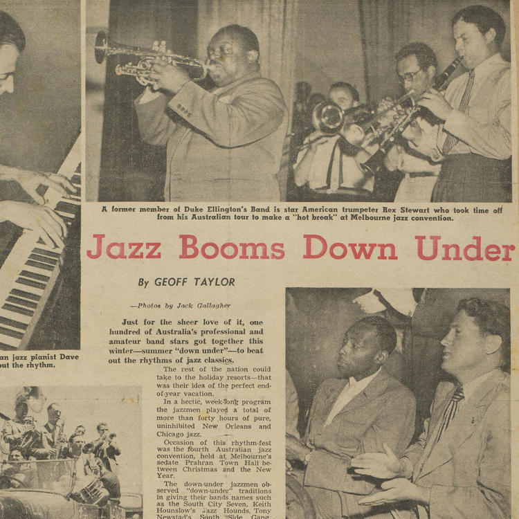 Graeme Bell's Jazz Scrapbook