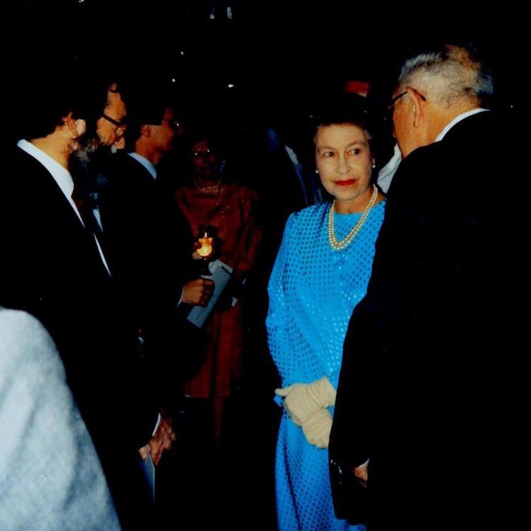 May 1988, The Queen