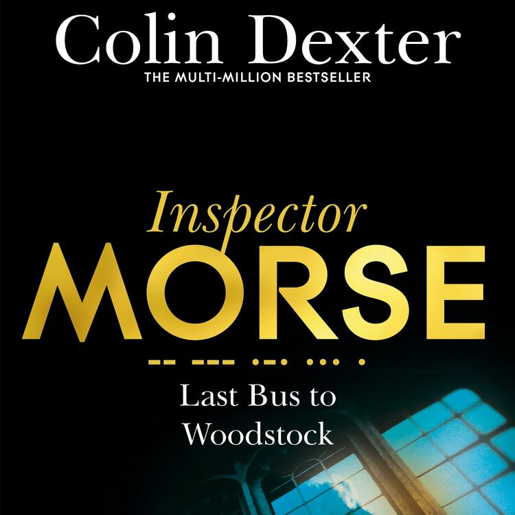 Colin Dexter book cover