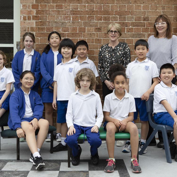 Summer Hill Public School students