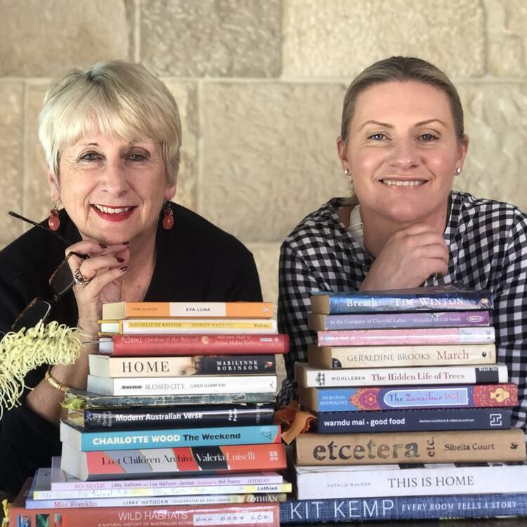 Children's authors Libby and Lisa Hathorn