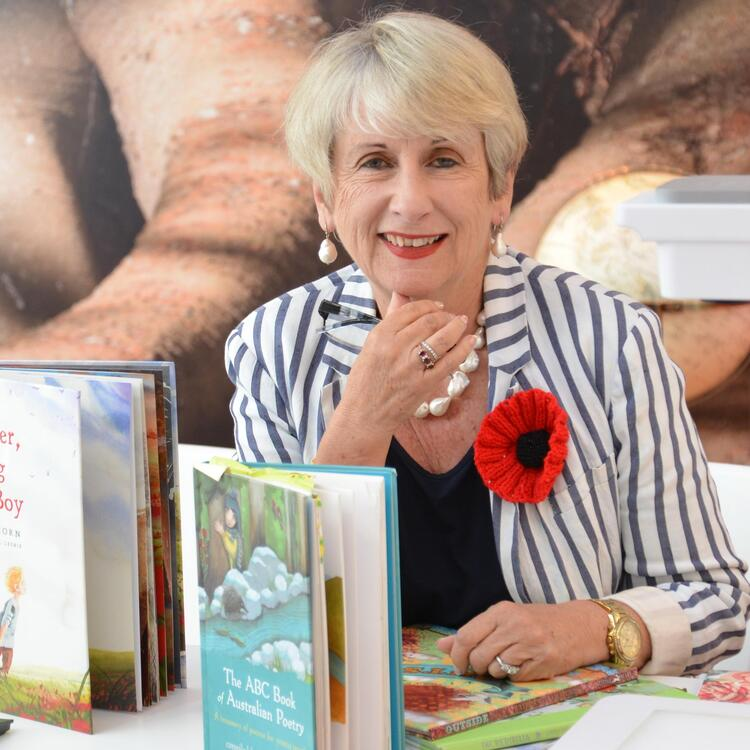 Australian author Libby Hathorn