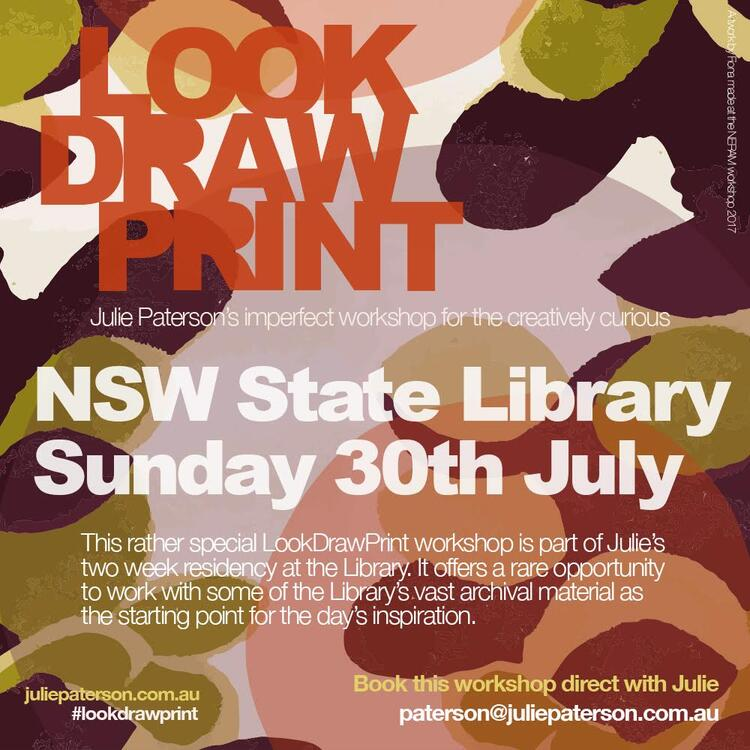 Look Draw Print poster image