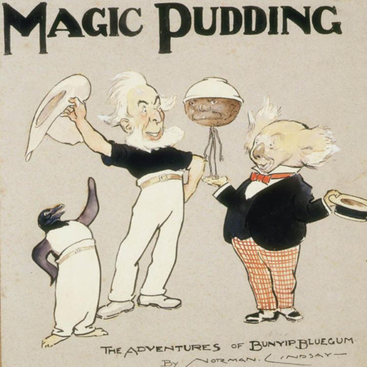 the magic pudding illustration
